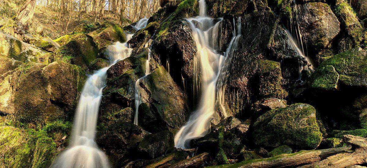 Døndalen vandfald
