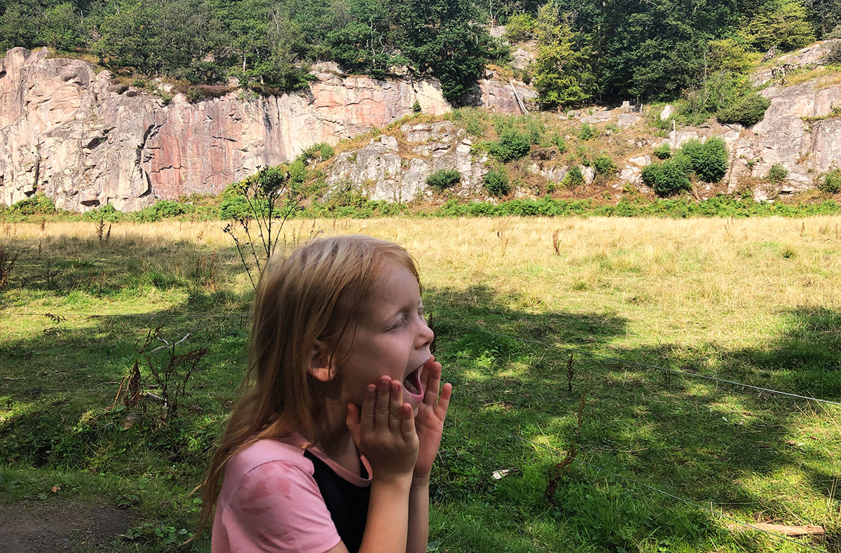 Ekkodalen - lejrskoleture bornholm