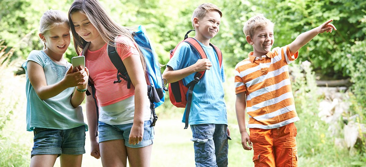 lejrskole på geocaching