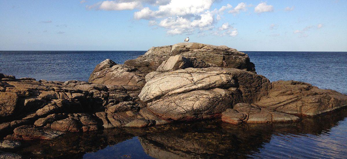 Klipper på Bornholm