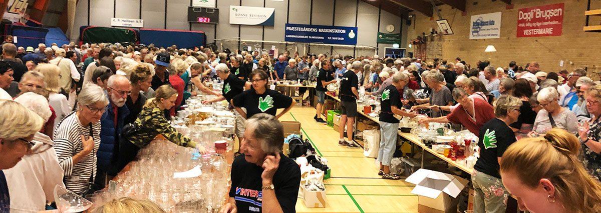 Loppemarkeder på Bornholm