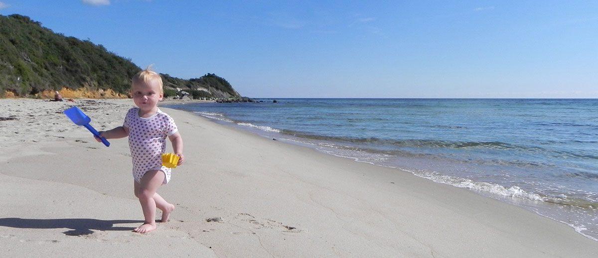 Strande på Bornholm