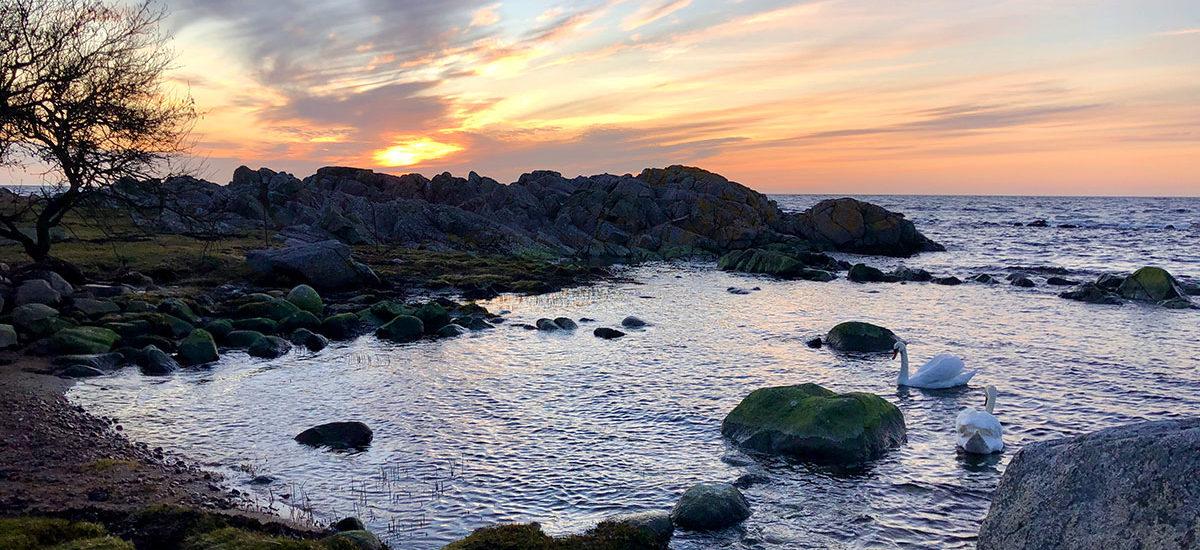 solnedgang bornholm