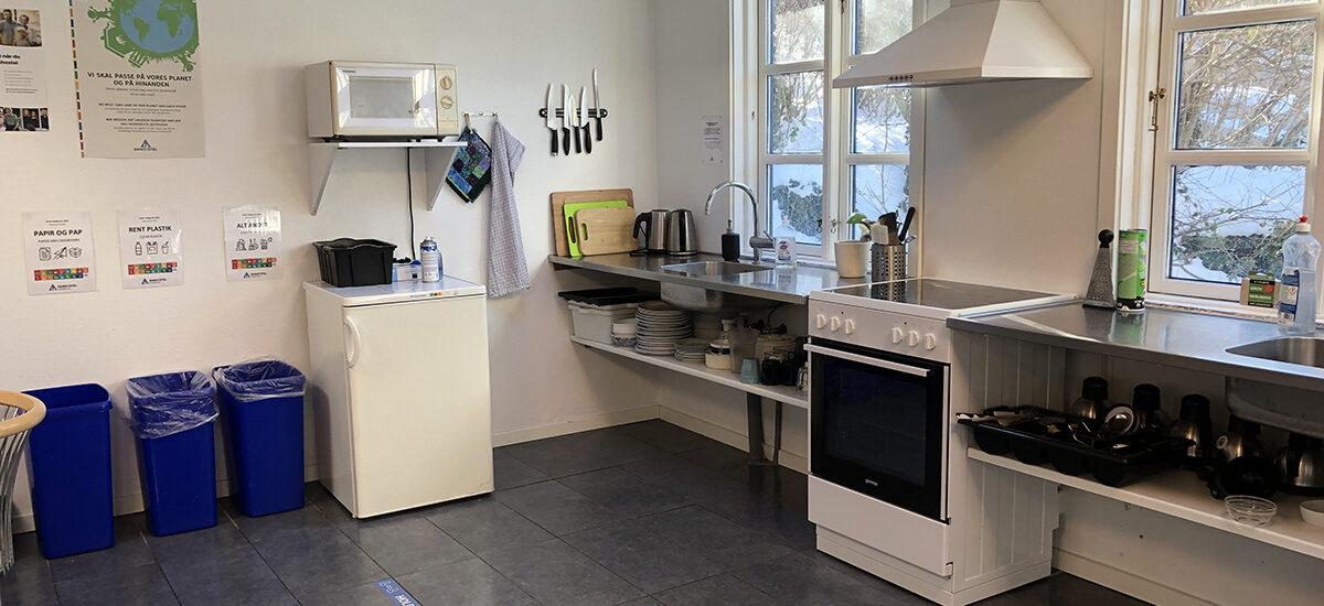 Faciliteter gæstekøkken
